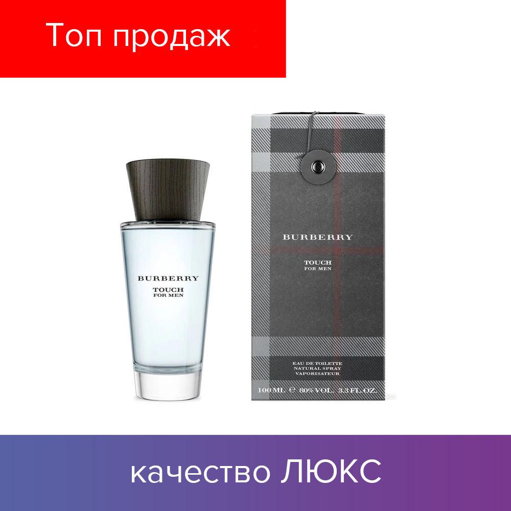100 ml Burberry Touch For Men Eau de Toilette   | Туалетная вода Барбери Тач Мен 100 мл