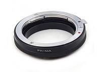 Адаптер для объективов Pentax на камерах Sony A/Minolta