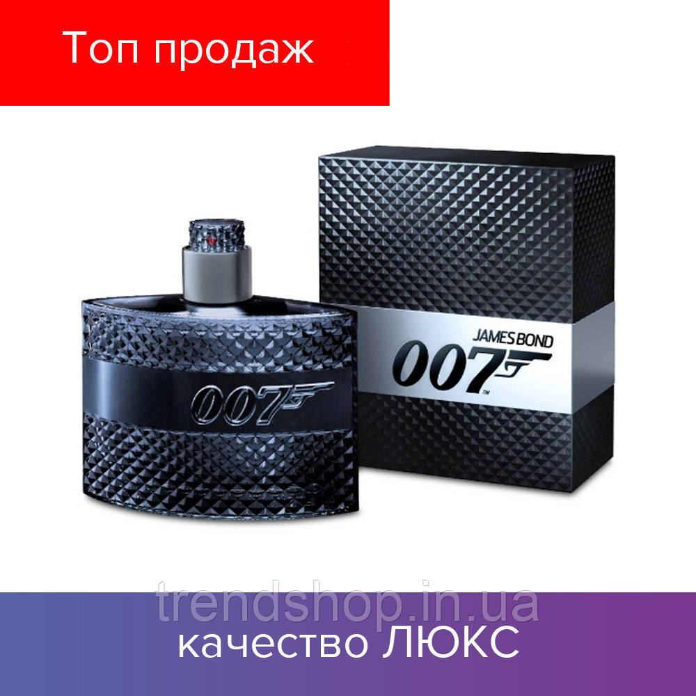 100 ml James Bond 007 Men. Eau de Parfum   | Мужская туалетная вода Джейсм Бонд 007 100 мл