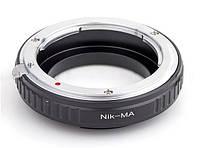 Адаптер для объективов Nikon F на камерах Sony A/Minolta