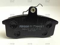 Колодки тормозные передние Ferodo (Target). ВАЗ 2108-15, 2110-12, Калина, Приора.