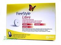 Сенсор Freestyle libre (Фристайл Либре) для измерения глюкозы, срок до 08.2021 г. (Франция)