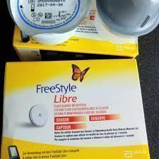 Сенсор Freestyle libre Фрістайл Лібре 05.2022 р. Франція
