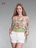 Блузка кружево низ белая, фото 1
