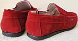 Style! Tommy Hilfiger! Мужские в стиле Томми Хилфигер красные замшевые мокасины, фото 6