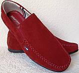 Style! Tommy Hilfiger! Мужские в стиле Томми Хилфигер красные замшевые мокасины, фото 2