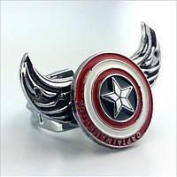 """Кольцо """"Щит Капитана Америки"""" Марвел Комиксы Marvel Comics"""