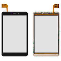 Сенсорный экран Nomi C070010 Corsa 7 3G черный (51 pin), PB70PGJ3535 (тачскрин, стекло в сборе), Сенсорний екран Nomi C070010 Corsa 7 3G чорний (51