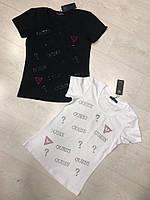 Модная летняя женская турецкая футболка с надписью, FL 1129