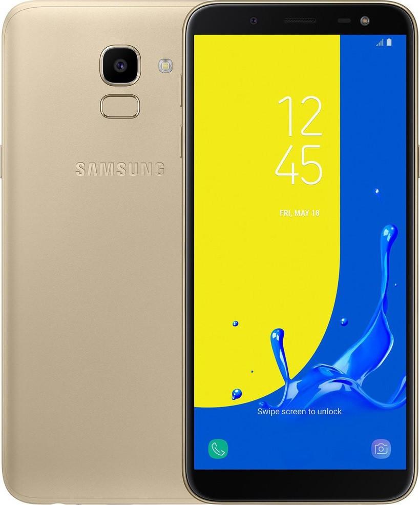 Сенсорный мобильный телефон Samsung SM-J600 3/32 Gold
