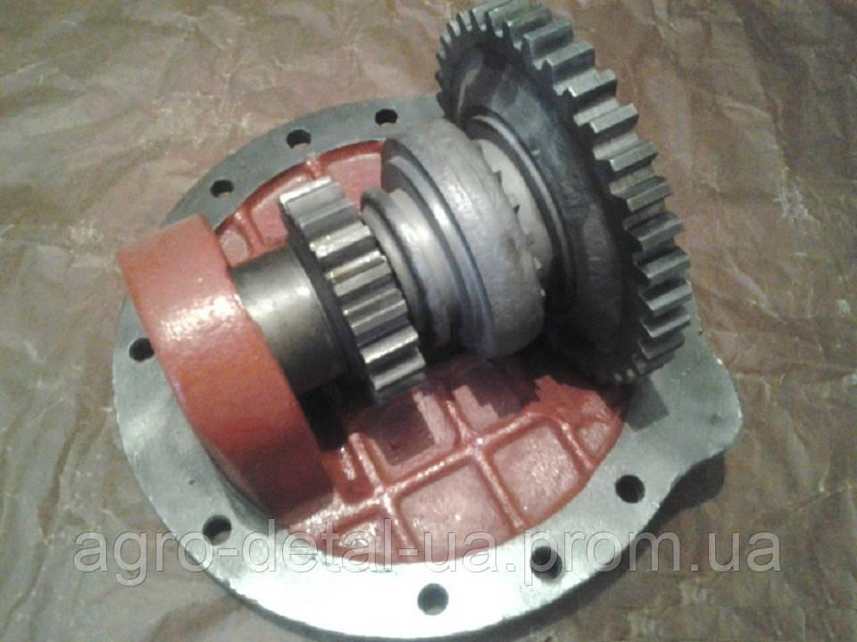 Редуктор 40-1701020-Б СБ коробки передач в сборе трактора ЮМЗ 6