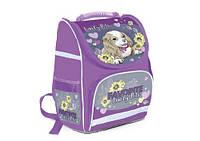 Рюкзак шкільний каркасний для дівчинки WILLY LOVELY DOG WL-869, 34х22х15 см