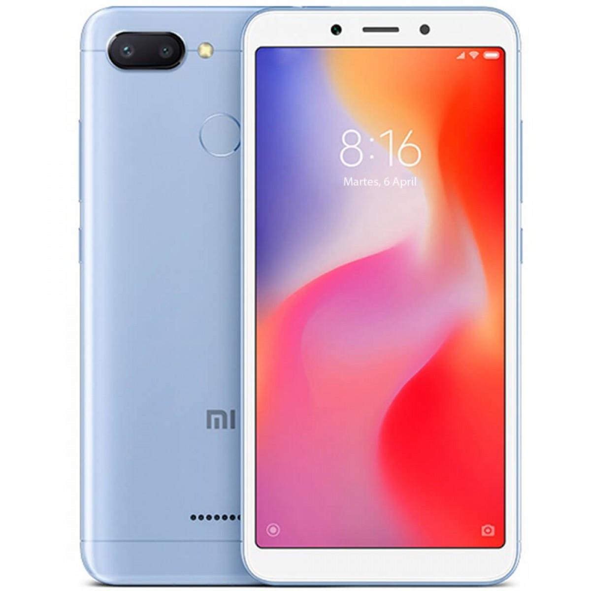 Смартфон Xiaomi Redmi 6 3/64GB Blue