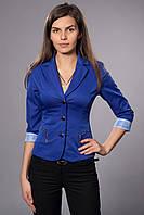 Пиджак женский на подкладке с рукавом 3/4. Код модели Ж-25-20-15