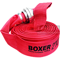 Рукав напорный для насоса с гайками ГР-50 (51 мм), длина 20 м, пожарный шланг для дренажа