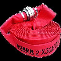 Рукав пожарный для насоса с гайками ГР-50 (51 мм), длина 30 м, пожарный шланг для дренажа, фото 1