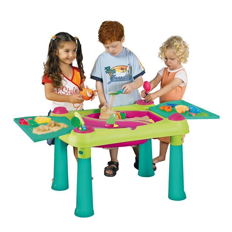 Детский столик-песочница Keter Kids Sand & water table 17184058