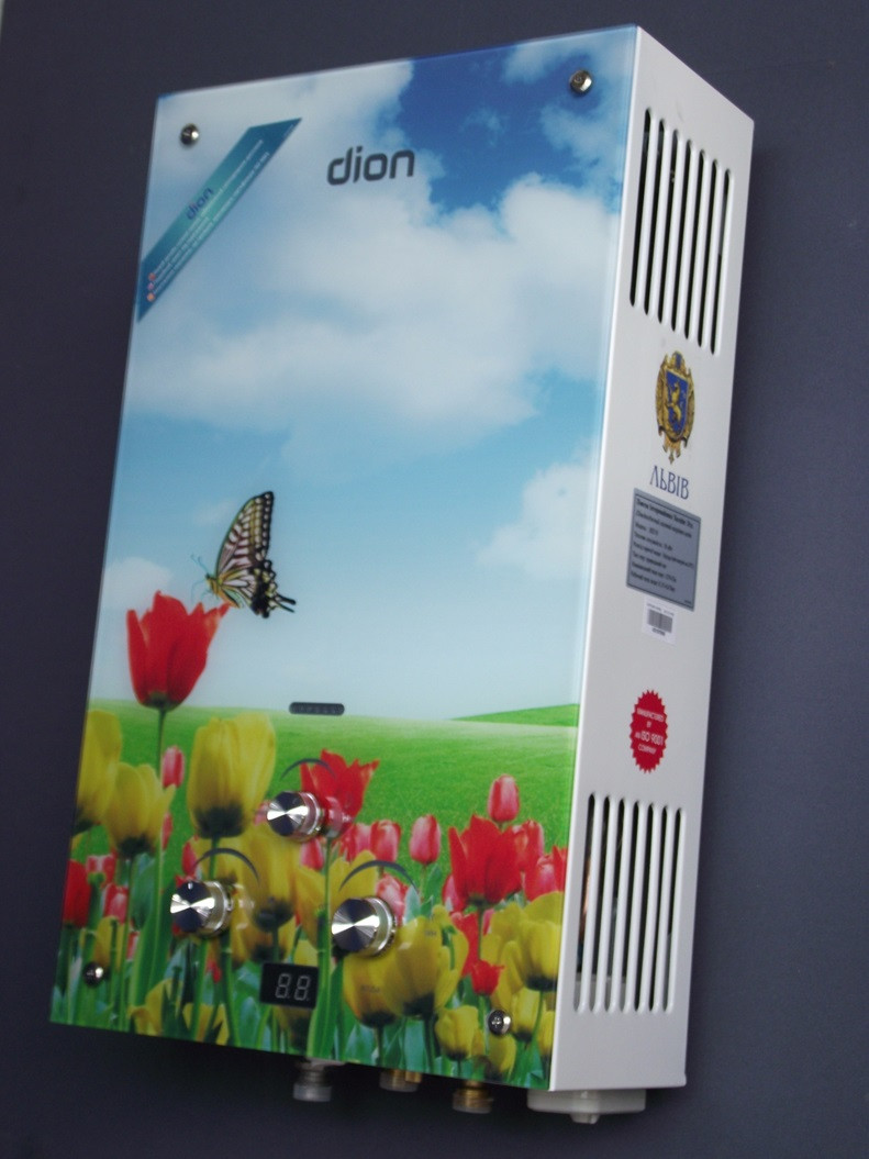 Газова колонка ДІОН JSD 10 дисплей(тюльпани)