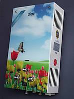 Газова колонка ДІОН JSD 10 дисплей(тюльпани), фото 1