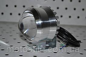 Дополнительная светодиодная LED фара ЛИНЗА