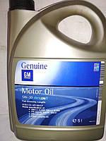 Моторное масло GM 5W-30 5л оригинал синтетическое