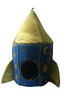 """Домик для животных """"Ракета""""  - (высота-70 см Диаметр- 37 см)"""