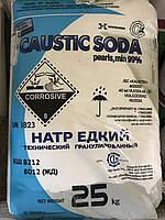 Сода каустическая, Каустик, 25кг