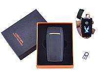 USB  зажигалка в подарочной упаковке (Двухсторонняя спираль накаливания) HL 55, фото 1