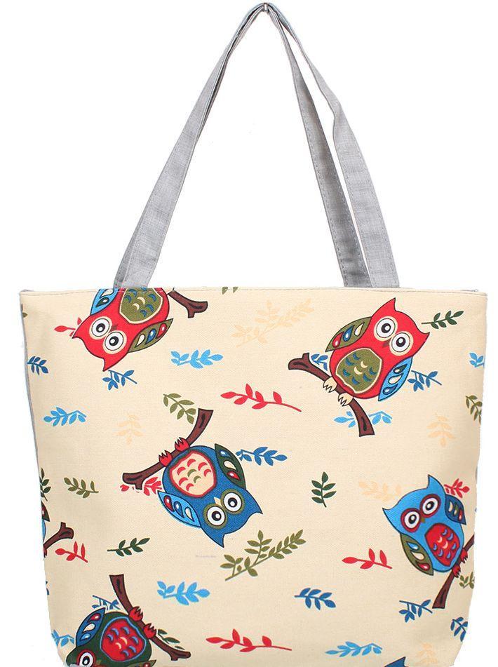 Женская пляжная тканевая сумкаETERNO DET1802-2