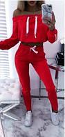 Спортивный костюм женский с открытыми плечами  мал243, фото 1