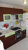 Кухня Фисташка матовая, Орех лесной