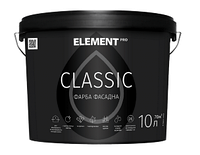ELEMENT PRO CLASSIC 10 л матовая краска фасадная