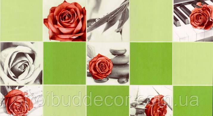 Обои бумажные мойка  Шарм 0,53*10,05  Кухня,коридор, ванная Классик Роза