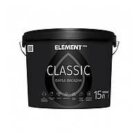 ELEMENT PRO CLASSIC 15 л акриловая матовая краска для наружных работ