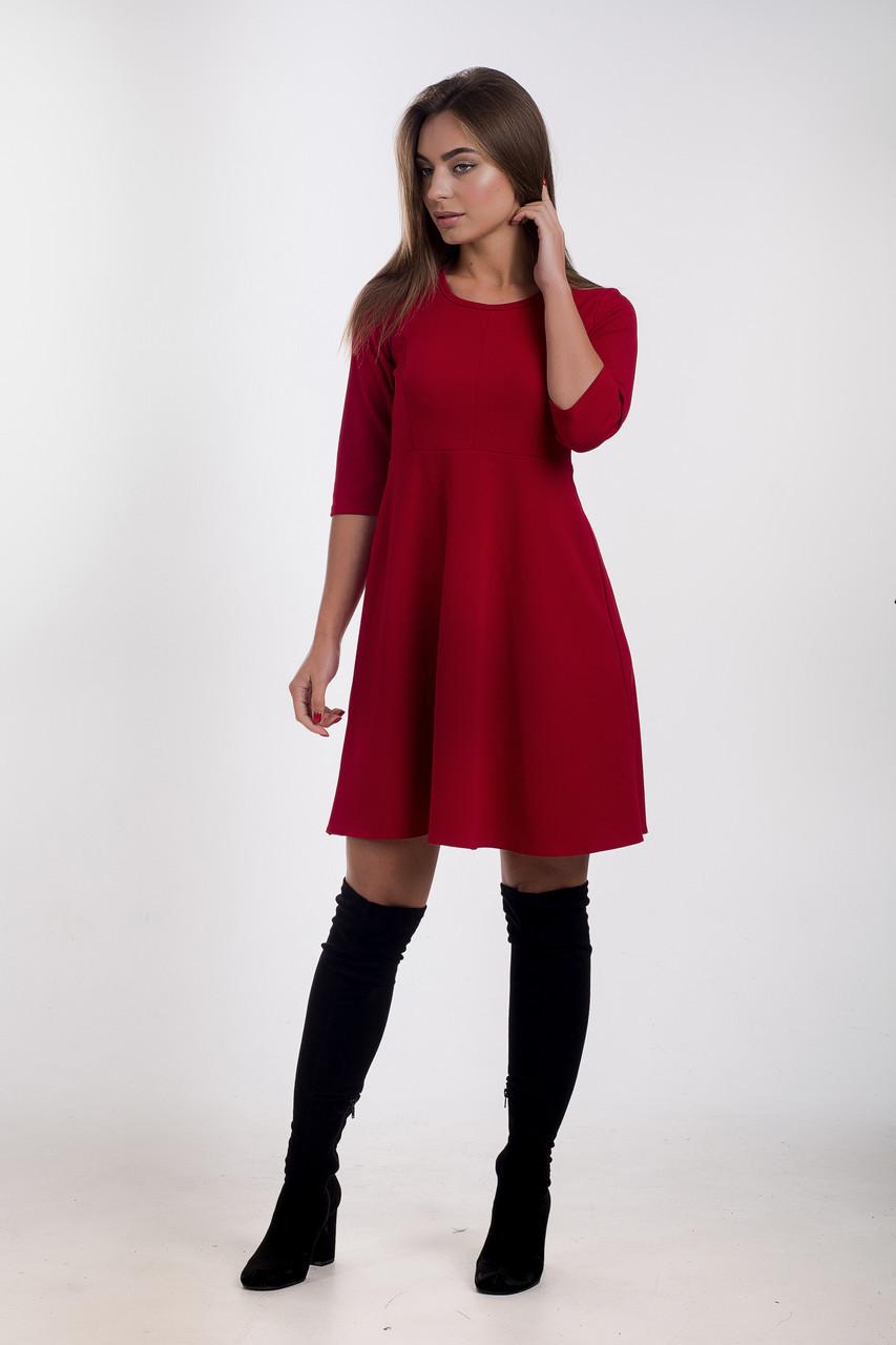 Платье K&ML 503 красный 46