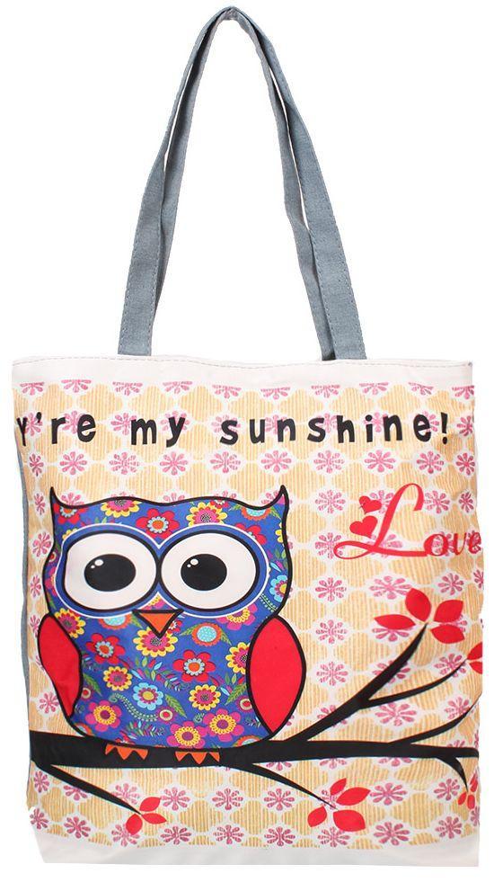 10726df4c4ed Женская пляжная тканевая сумка ETERNO DET1801-3 — только ...
