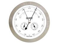 Барометр, термометр, гігрометр Telamex з нержавіючої сталі