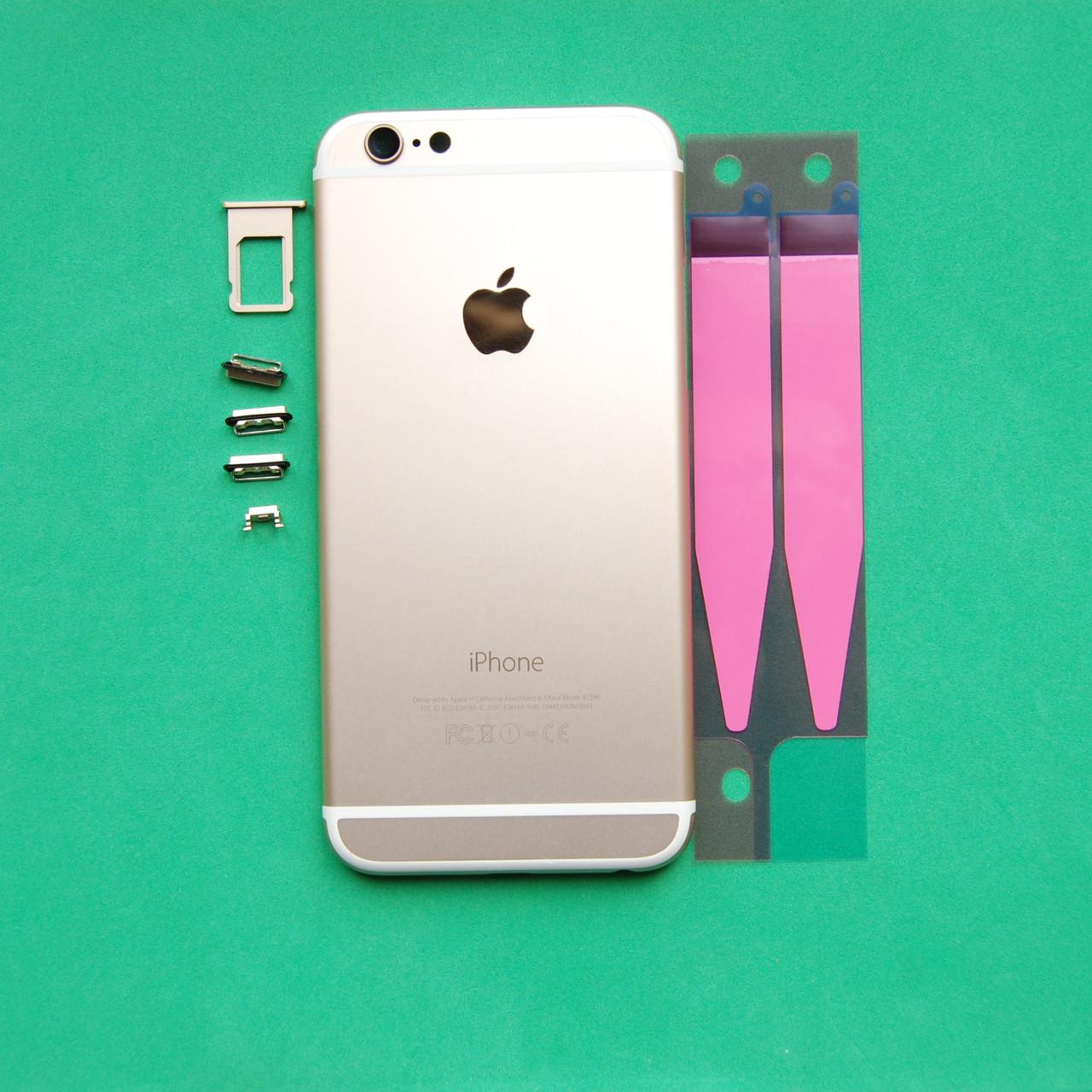 Корпус Apple iPhone 6 Gold