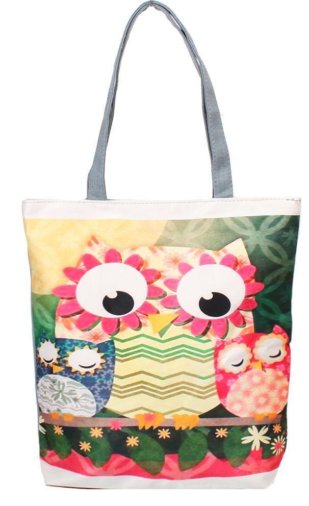36aa0b1d1ac9 Женская пляжная тканевая сумка ETERNO DET1801-5 — только ...