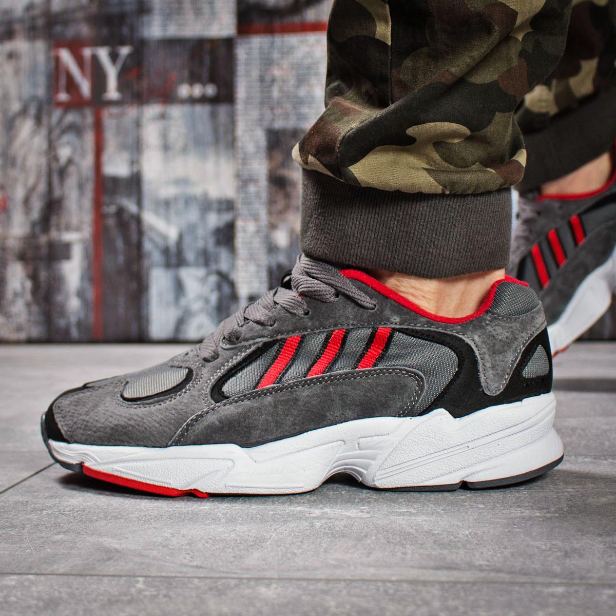 Кроссовки мужские Adidas Yung 1, темно-серые (15932) размеры в наличии ► [  44 45  ](реплика)