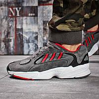 Кроссовки мужские Adidas Yung 1, темно-серые (15932) размеры в наличии ► [  44 45  ](реплика), фото 1