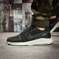Кроссовки мужские 15981, Nike Zoom Air, темно-серые ( 43  )(реплика)