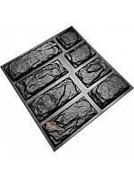 """Форма для изготовления декоративного (искусственного) камня и плитки """"Болгарский сланец"""""""