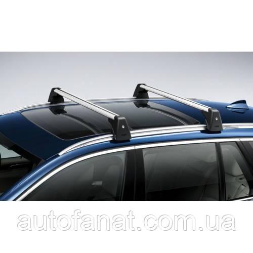 Оригинальные багажные дуги для автомобилей с рейлингами крыши BMW X3 (F25) (82712338614)