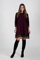 Платье K&ML 433 бордовый 46, фото 1