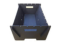 Мангал раскладной 3мм, мангал складной мини, мангал разборной, мангал раскладной, подобие мангал чемодан, фото 1