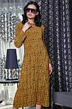 1471/7 Стильное молодежное платье, фото 3