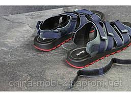 Мужские сандалии Nike, синие (Топ реплика ААА+) 5241, фото 2