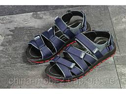 Мужские сандалии Nike, синие (Топ реплика ААА+) 5241, фото 3