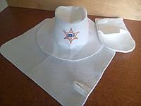 "Набор для бани, сауны цвет белый ""SHERIFF"" G"